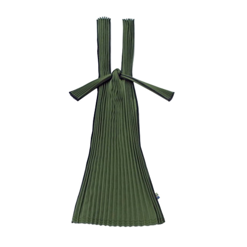 Pleated Eco Bag (Olive)