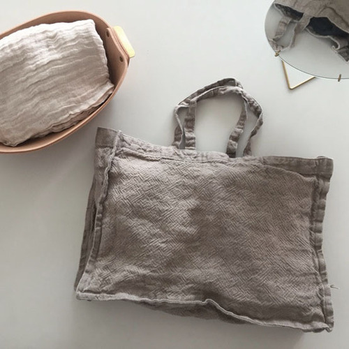 [재입고] French Linen Tote Bag (Heavy Line, Small)