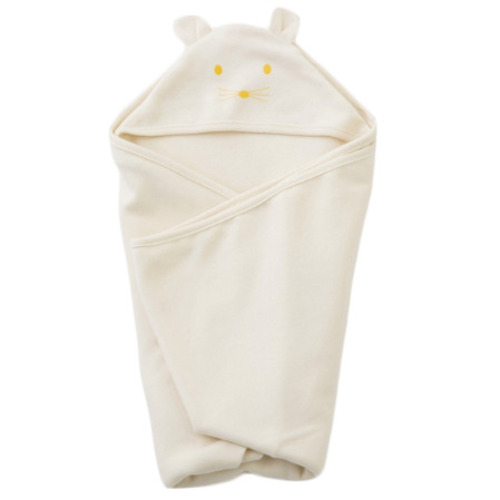 Fog Linen Hooded Cotton Swaddle