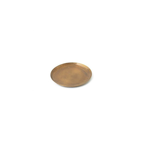 Fog Linen Brass Tray (Small Round)
