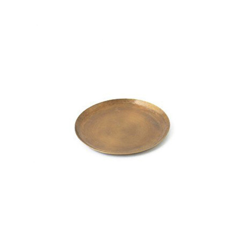 Fog Linen Brass Tray (Medium Round)