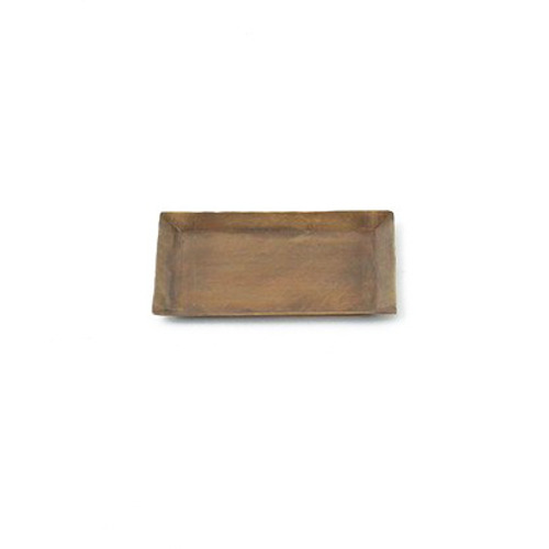 Fog Linen Brass Tray (Rectangle)