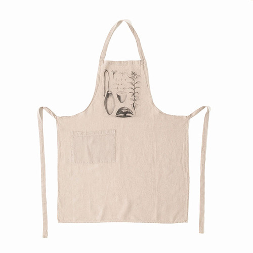 [재입고] French Linen Apron (Ancient Plants)