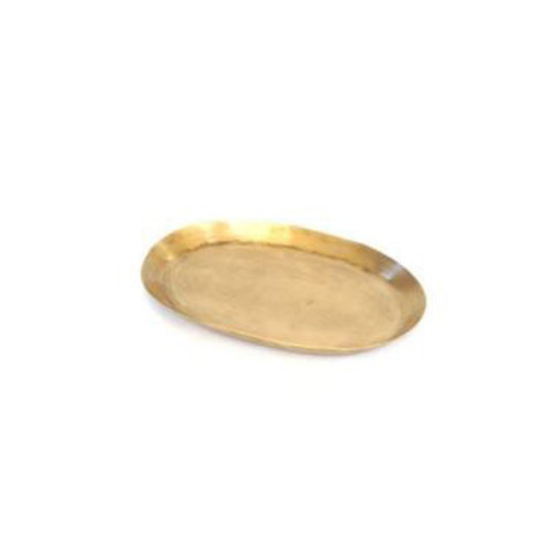 Fog Linen Brass Tray (Oval S)