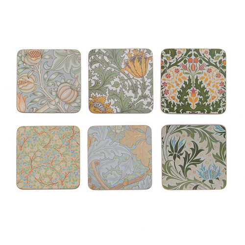 V&A William Morris Coasters Set