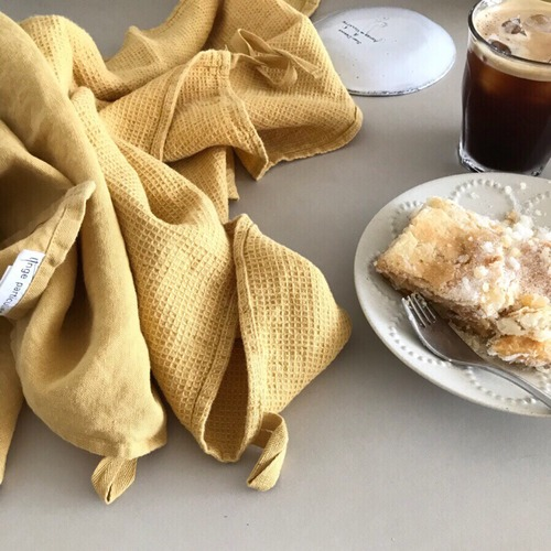 French Linen Kitchen Cloth (Gold)