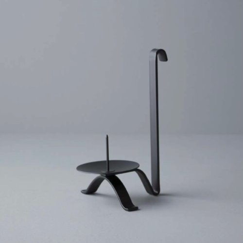 Iron Candle Holder (long handle)