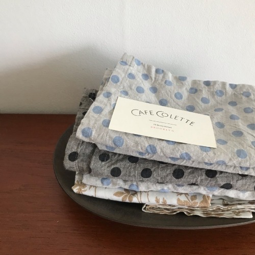 Dotted Cotton Kitchen Cloth (2 Colors)