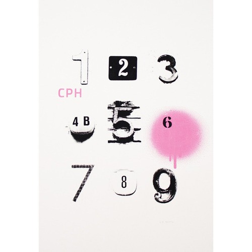 Urban No.1-9 Copenhagen Poster (Limited Edition)
