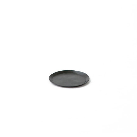Fog Linen Metal Tray (Small Round)