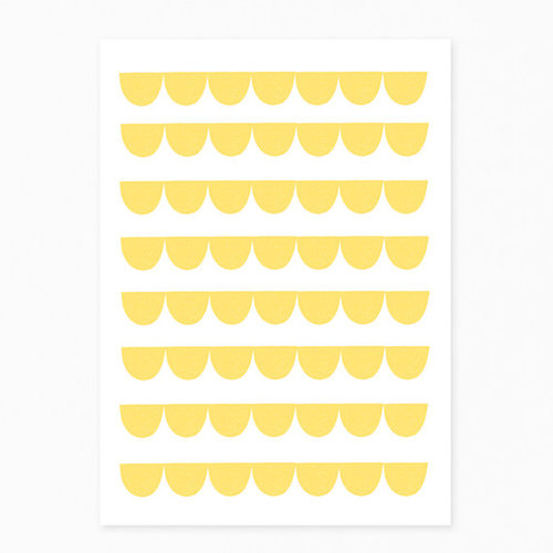 [재입고] Seventy Tree Yellow Halfmoon Postcard