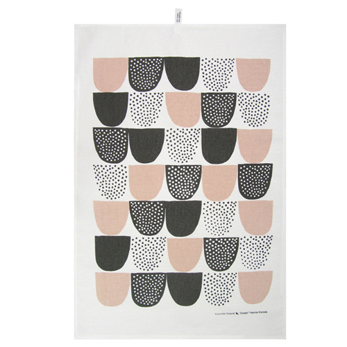 Kauniste Sugar Tea Towel (Pink)