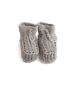 Knitted Baby Shoes (Natural Linen) 재입고