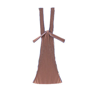 Pleated Eco Bag (Brown)