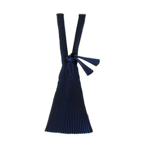 [재입고] Pleated Eco Bag (Navy)