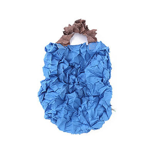 Crumpled Eco Bag (Blue)