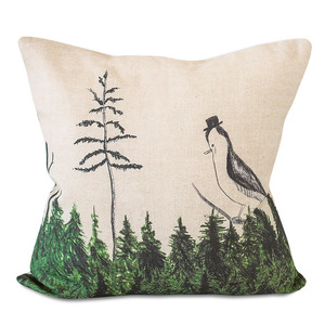 Fine Little Day OK Linen Cushion