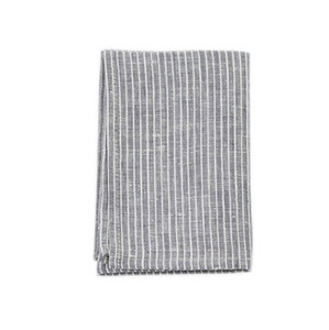 Linen Kitchen Cloth (Grey Stripe)