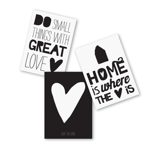 [재입고] Paqhuis Postcards Set (Heart)