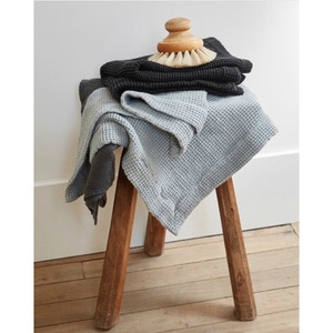 [재입고] French Waffle Linen Bath Mat (2 Colors)
