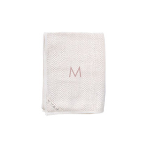 Fog Linen Herringbone Cotton Bath Towel (Medium)