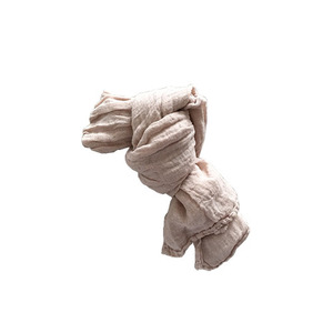 French Linen Scarf for Kids (SAND)