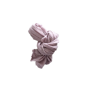 French Linen Scarf for Kids (MAUVE)