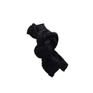 [재입고] French Linen Scarf for Kids (BLACK)