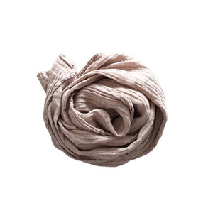 재입고 French Linen Scarf (SAND)