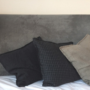 [재입고] French Heavy Linen Cushion (50 x 50)