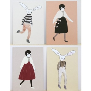 LUMI & LEWIS POSTCARDS SET (8 pcs)