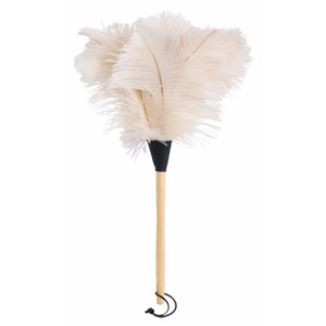 Redecker Ostrich Feather Duster (White 50 cm)