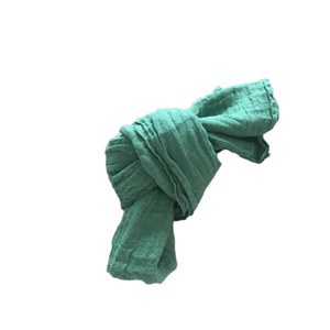 [NEW] French Linen Scarf for Kids (EMERALD GREEN)