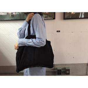 [재입고] French Linen Shoulder Bag (Heavy Line, Medium)