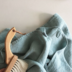 [재입고] French Waffle Linen Kitchen Cloth (Sage)