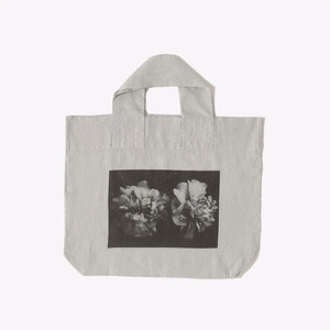 French Linen Bag (The Flower)