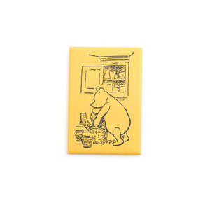 Winnie-the-Pooh Magnet (Yellow)