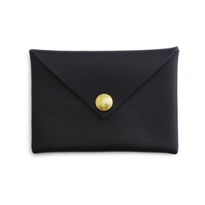 Leather Card Case (Black)