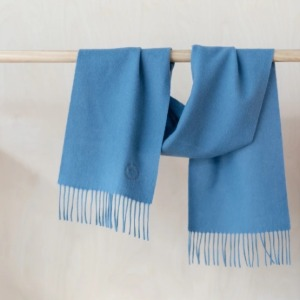 Pure Lambswool Kids Scarf (Coast)