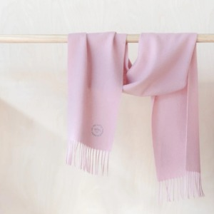 Pure Lambswool Kids Scarf (Dusty Pink)