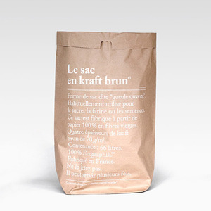 Brown Paper Bag by Be Pôles (66 리터)