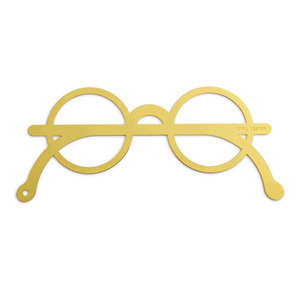 Glasses Bookmark (Gold)