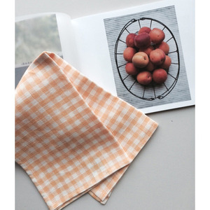 Linen Kitchen Cloth (Yellow Check)
