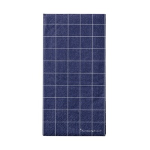 Bloomingville Navy-White Checks Napkin (16 pcs)