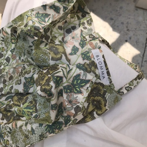 Liberty Cotton Flat Bag (Edna)